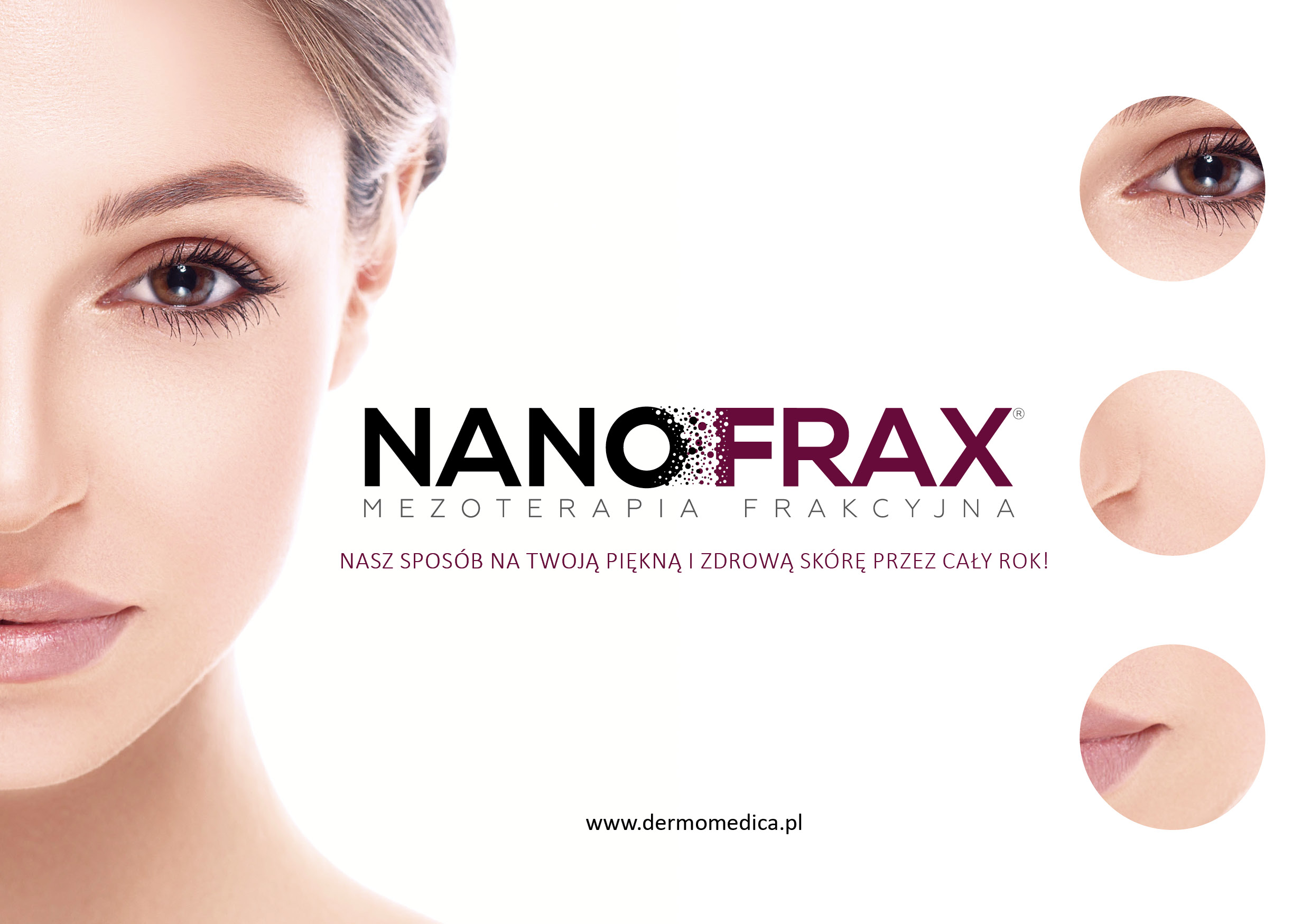 Dermomedica NanoFrax ulotka A5