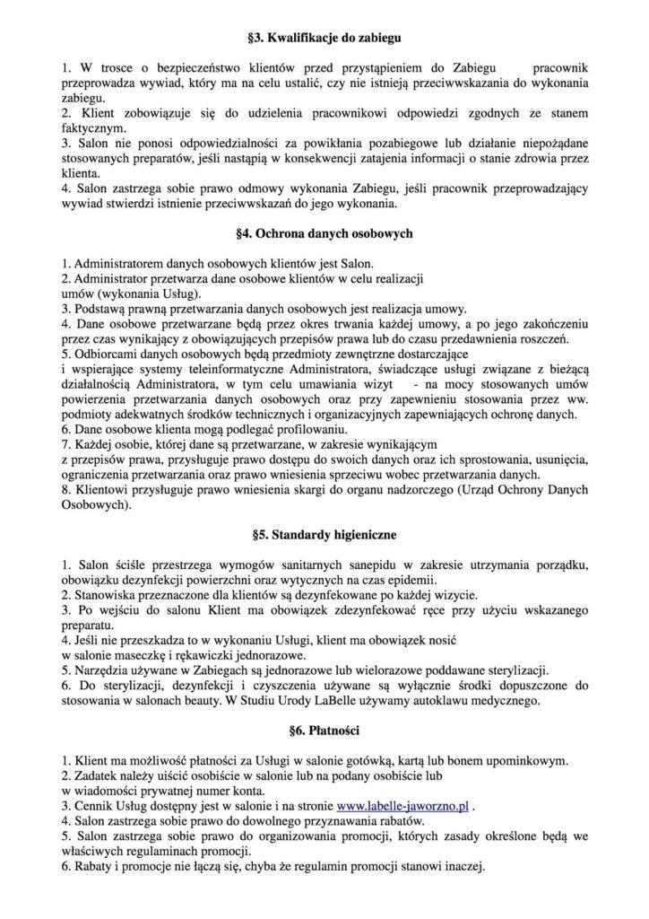 Regulamin salonu (1)mod2